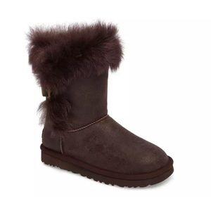 Ugg Brown Suede Deena Boots 5 US / 36 EU / 3.5 UK